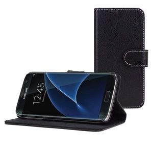 Accessories - Snugg PU Leather Wallet Case for Samsung